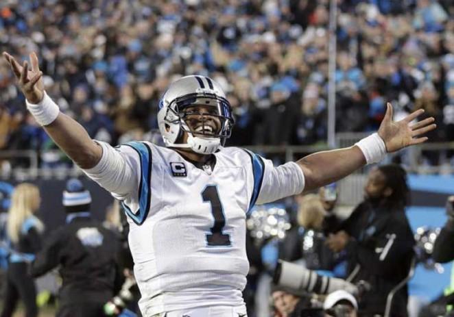 Cam Newton y los Panthers humillan a Cardinals y van al Super Bowl