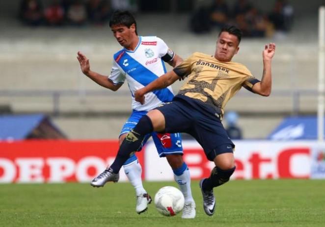 Puebla sorprende y vence 1-0 a Pumas