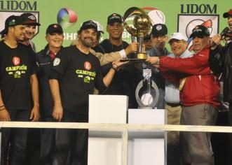 Leones del Escogido se coronan en liga de béisbol dominicana