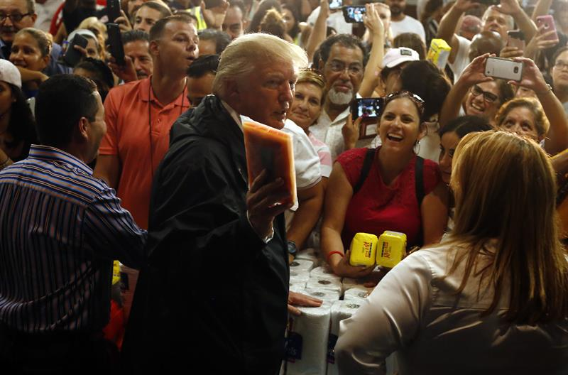 Trump sugiere eliminar la deuda de Puerto Rico
